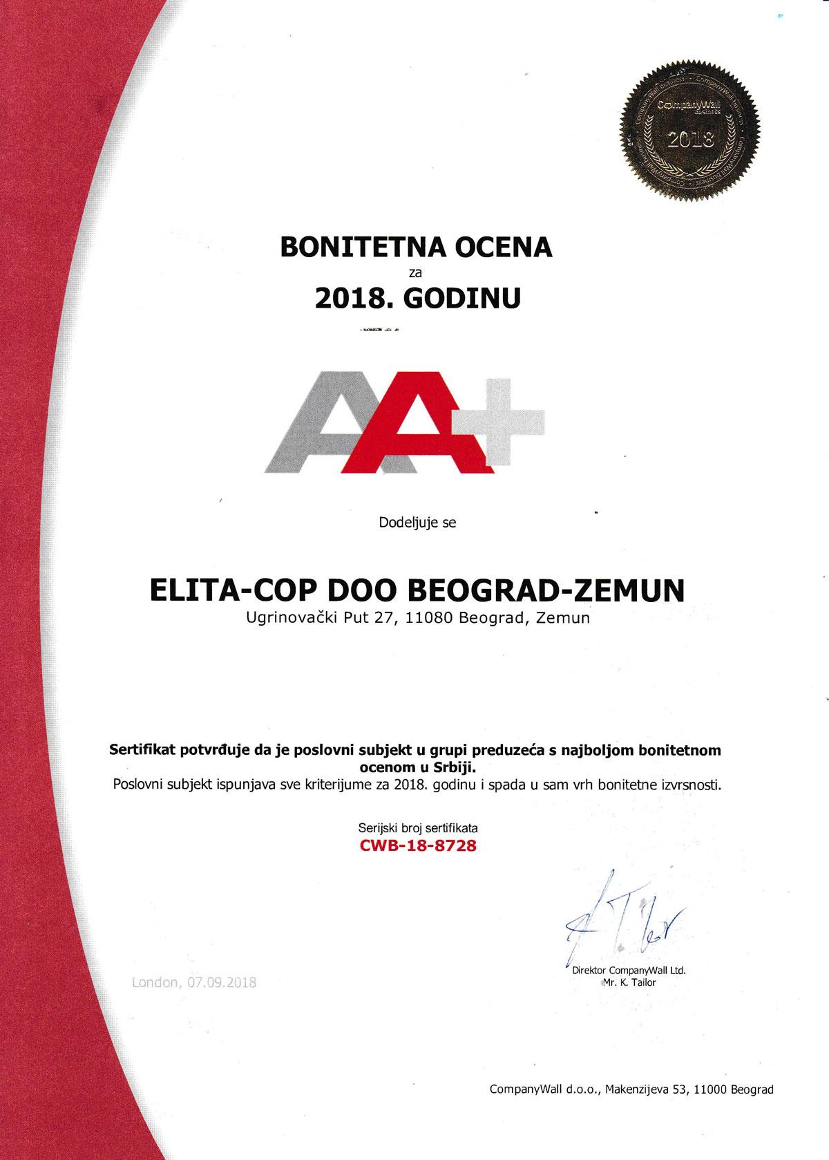Elita Cop BONITET