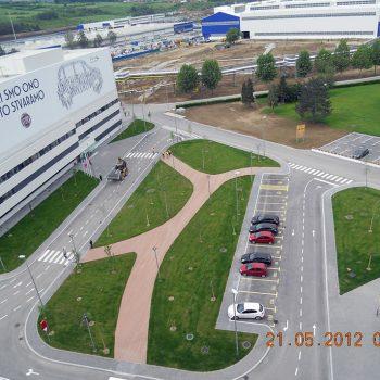 Fiat upravna zgrada - Kragujevac